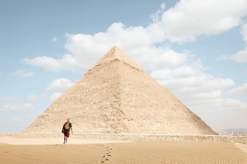 pyramide découverte
