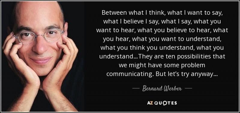 Bernard Werber, Règles pour créer une culture Qualité