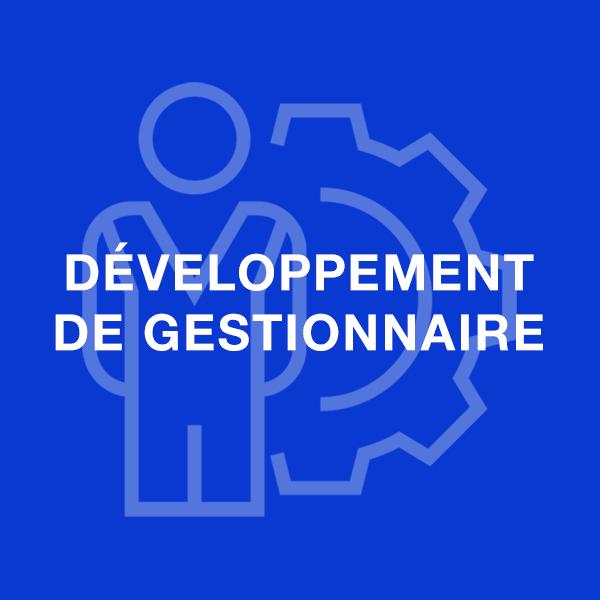 développement des gestionnaires
