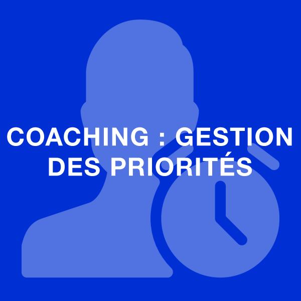 coaching gestion des priorités